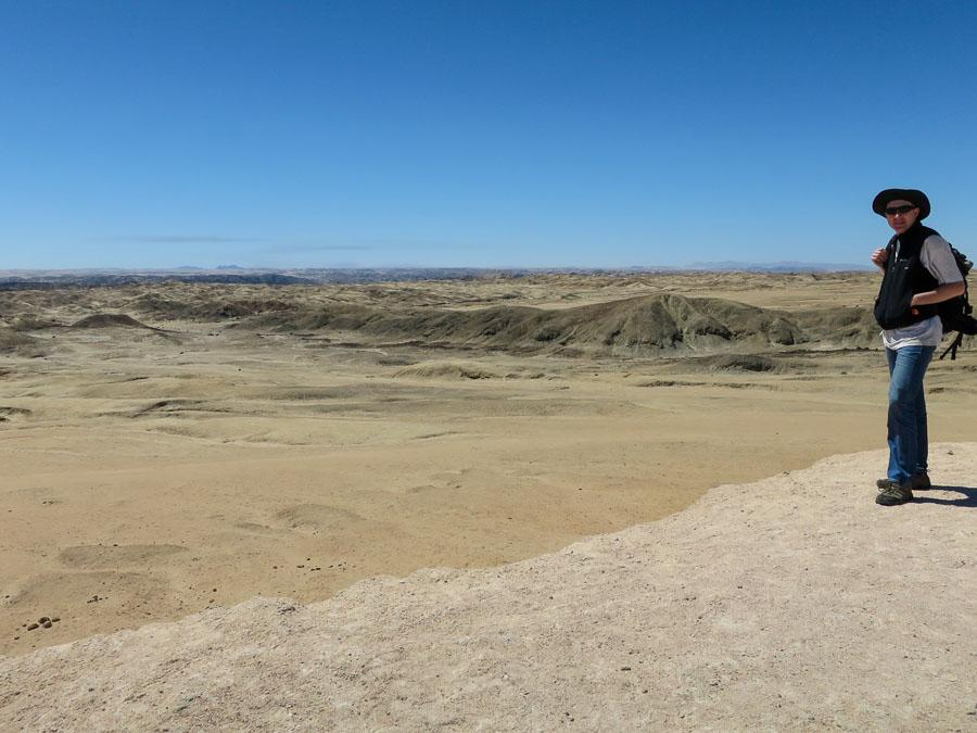 Namib Desert Moonscape